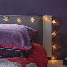 Battery Metal Filagree Star Fairy Lights