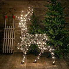 1.4m Outdoor Plug In Reindeer Figure