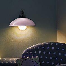 Battery Demi Lamp Pink Wall Light