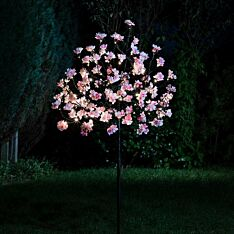 1.2m Outdoor Solar Cherry Blossom Tree