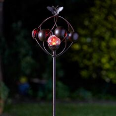 Solar Aura Wind Spinner Stake Light