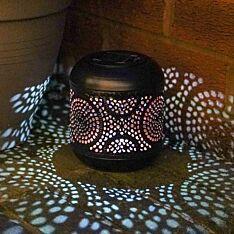 Solar Metal Flame Lantern