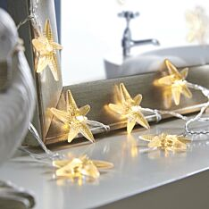 Battery Starfish Indoor Fairy Lights