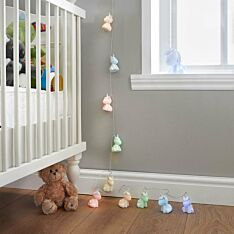 Battery Operated Unicorn Fairy Lights, Colour Changing LEDs, 1.7m