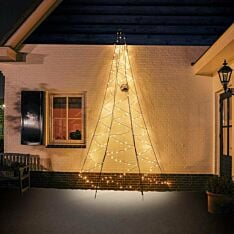 4m Outdoor FairyBell Pre-lit Tree, 240 Warm White LEDs