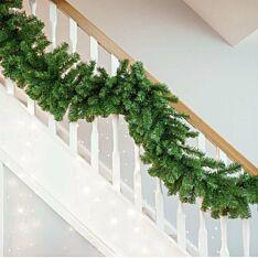 2.7m Green Christmas Garland