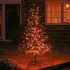 Outdoor Twinkling Firefly Twig Tree