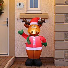 1.2m Inflatable Reindeer Figure