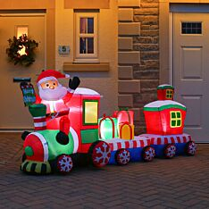 2.4m Inflatable Santa Train