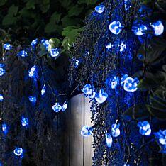 Solar Powered Multi Function Heart LED Fairy Lights