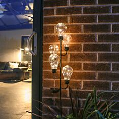 Solar Warm White Festoon Stake Light