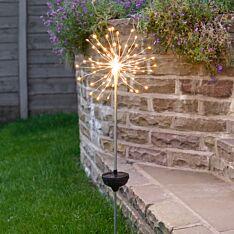 Solar Starburst Stake Light