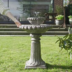 Solar Victoriana Tiered LED Water Feature