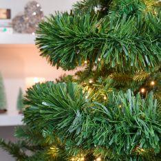 3m Green 6 Ply Chunky Tinsel Christmas Tree Decoration
