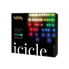5m Smart App Controlled Twinkly Christmas Icicle Lights, Special Edition - Gen II