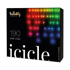 5m Smart App Controlled Twinkly Christmas Icicle Lights - Gen II