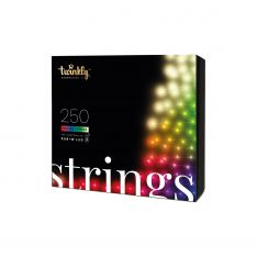 20m Smart App Controlled Twinkly Christmas Fairy Lights, Clear Cable, Special Edition - Gen II