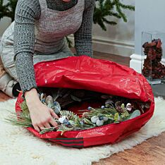 61cm Large Christmas Wreath Storage Bag, 61cm