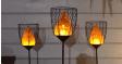 Solar Flame Stake Light