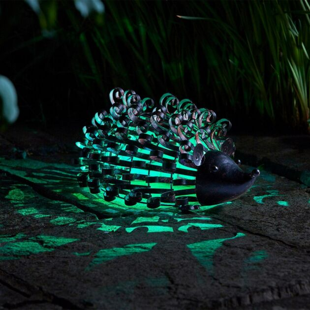 Solar Novelty Hedgehog Light