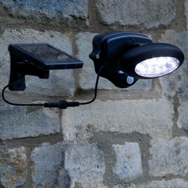 Solar Security Wall Light PIR Sensor