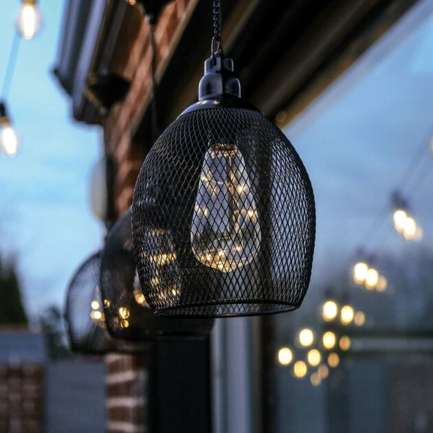 Solar Hanging Pendant Light