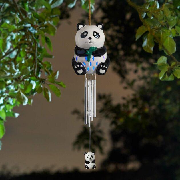 Solar Panda Wind Chime