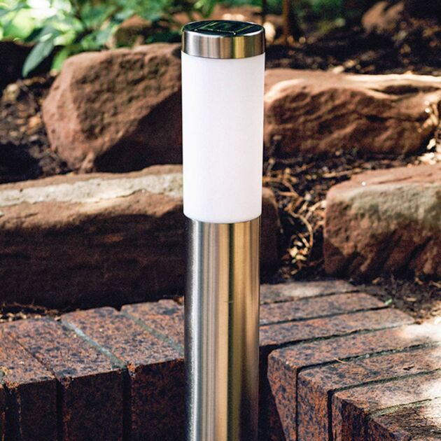 Solar Stainless Steel Bollard Light