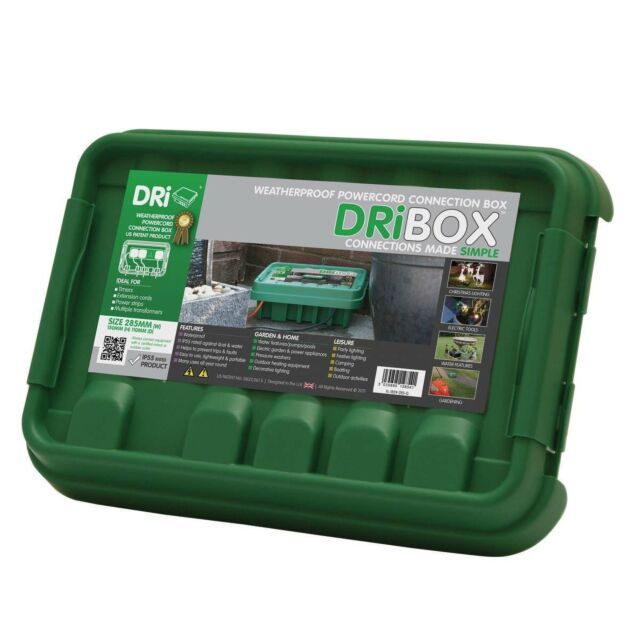 Dribox Medium Weatherproof Connection Box Green Edition