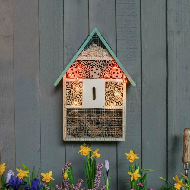 40cm Solar Insect Hotel