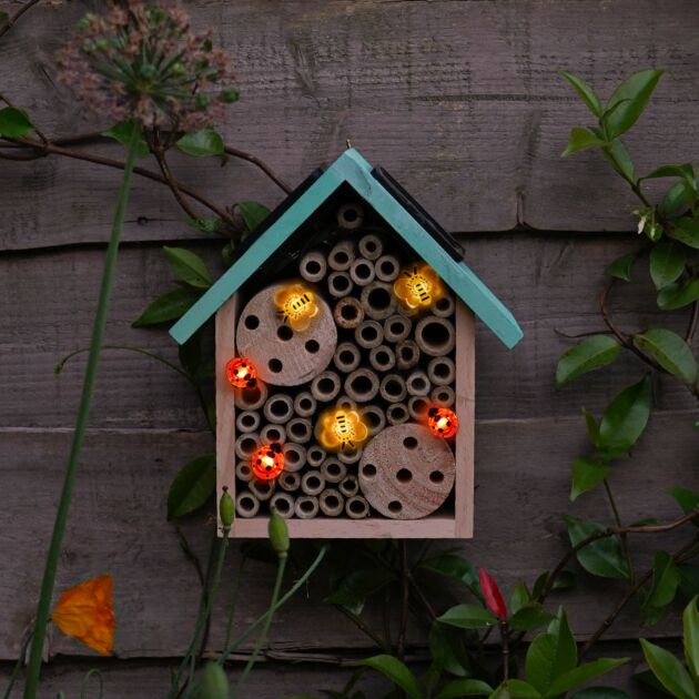 20cm Solar Insect Hotel