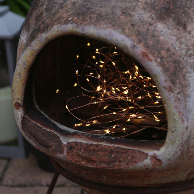 Solar Powered Multi Function Copper Firefly Wire Fairy Lights