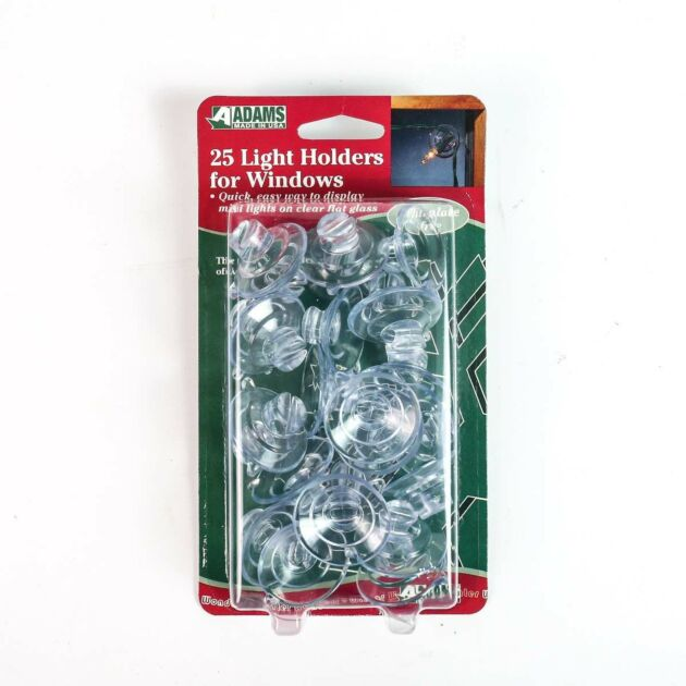 Clear Suction Cups, 25 Pack