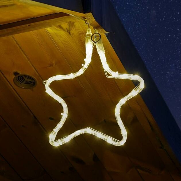 ConnectGo Outdoor Star Christmas Silhouette, Connectable