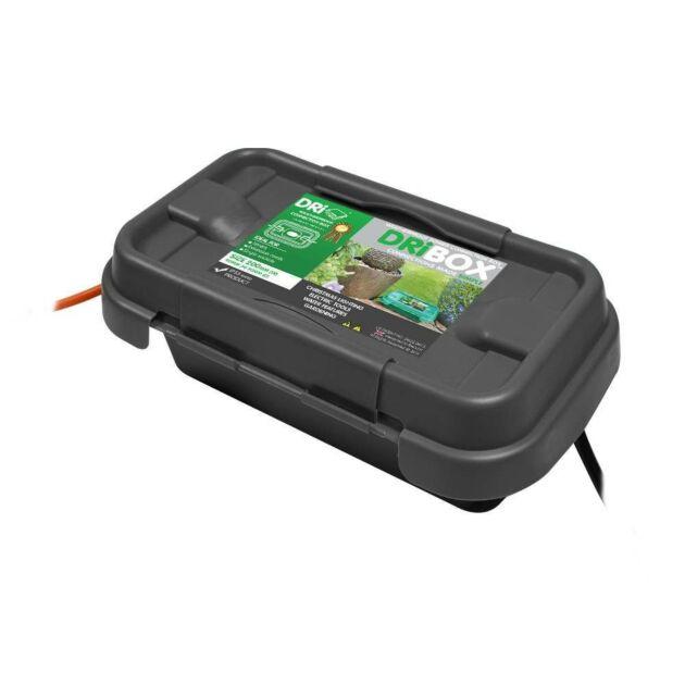 Dribox Weatherproof Small Connection Box Black Edition