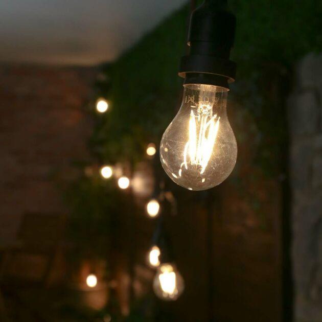 E27 Warm White LED High Power Decorative Festoon Bulb, 4W