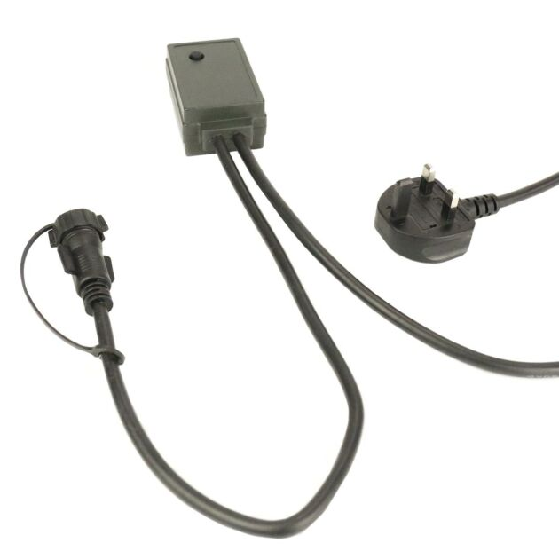 2m Black Starter Cable with LED Dimmer Controller