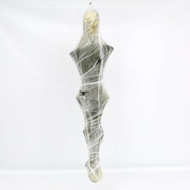Halloween Battery Hanging Cocoon Man with Light and Sound, 1.7m
