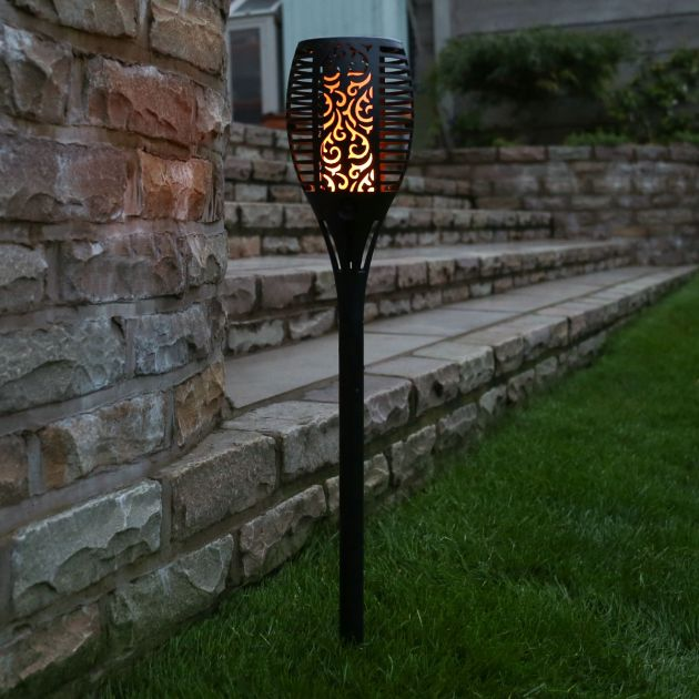 Solar Torch Stake Light
