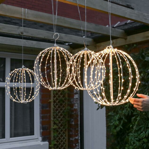 30cm Starburst Firefly Lights, 4 Pack