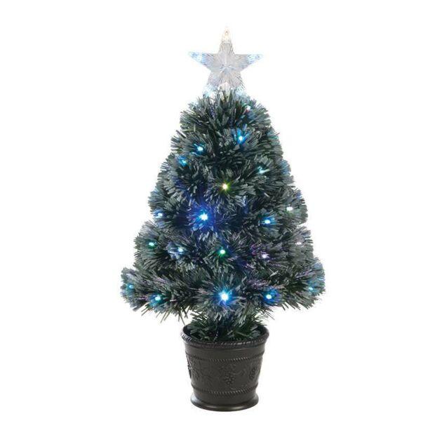2ft Fibre Optic Christmas Tree, 68 Multi Colour LEDs