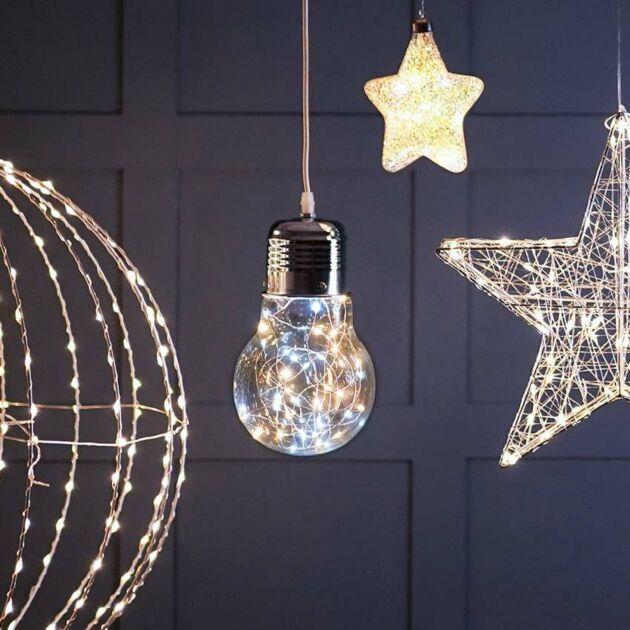50cm Large Festoon Bulb, 300 Firefly LEDs