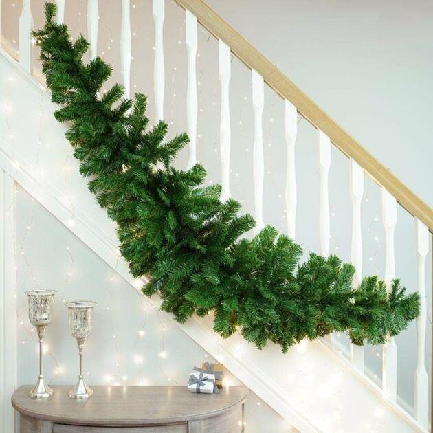 Green Christmas Swag