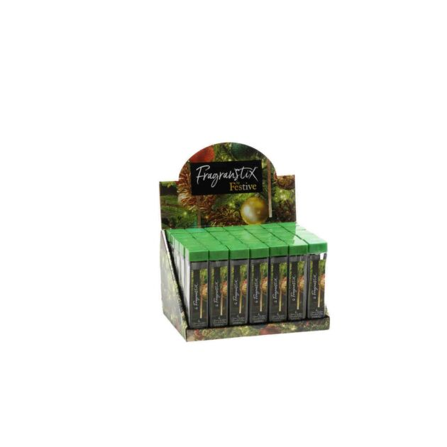 Classic Xmas Scented Christmas Tree Fragrance Sticks, 6 Pack