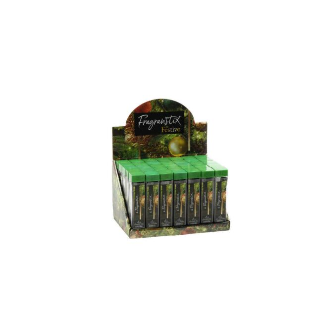 Fireside Scented Christmas Tree Fragrance Sticks, 6 Pack