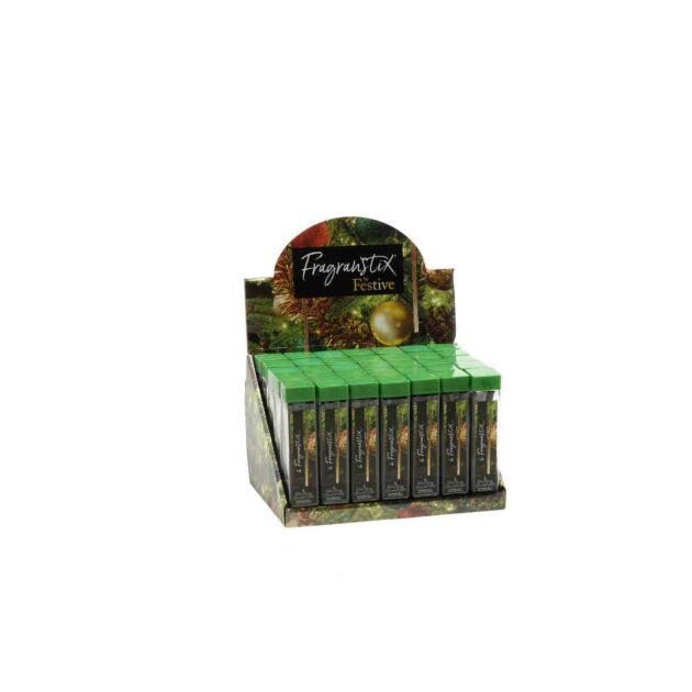 Festive Berry Scented Christmas Tree Fragrance Sticks, 6 Pack