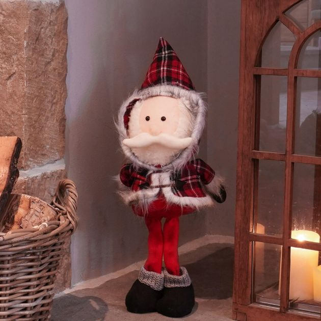 42cm Santa Standing Big Head Pal