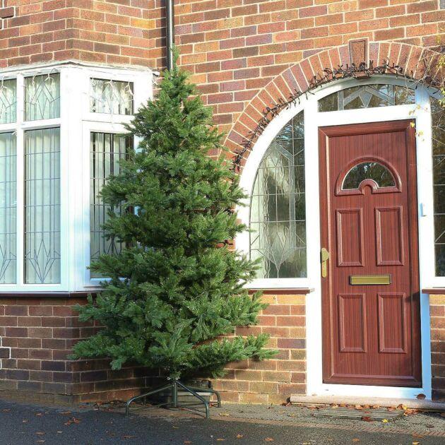 9ft Outdoor Green Richmond Fir Artificial PE Christmas Tree
