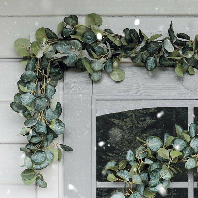 1.8m Outdoor Eucalyptus Christmas Garland