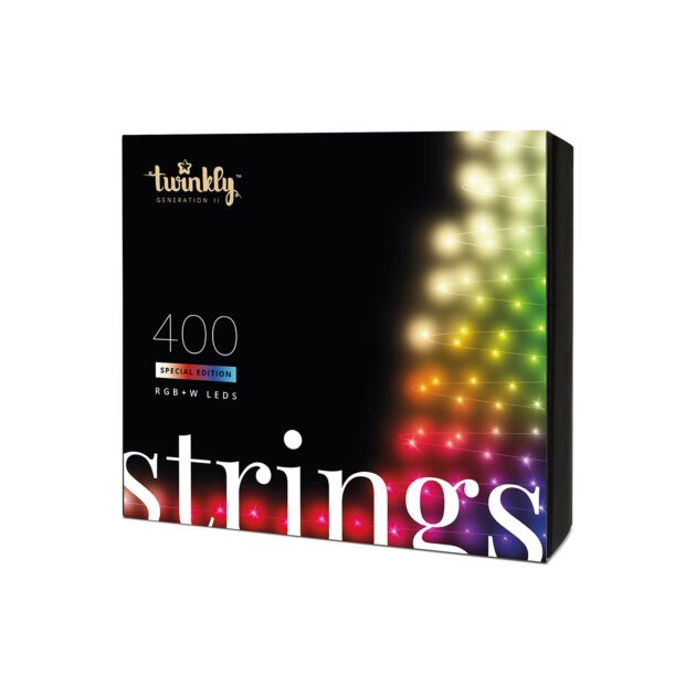 32m Smart App Controlled Twinkly Christmas Fairy Lights, Special Edition - Gen II - EU Plug